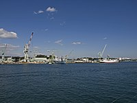 Port of Shiogama from the sea.jpg