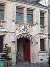 Portail d'entrée de l'hôtel de Bourgtheroulde.JPG