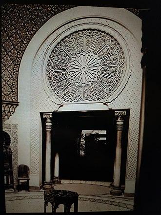 Palais Oriental (Reims) - Ottoman Gate in the Palais Oriental