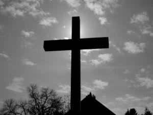 Portiuncula Chapel cross 0724.jpg