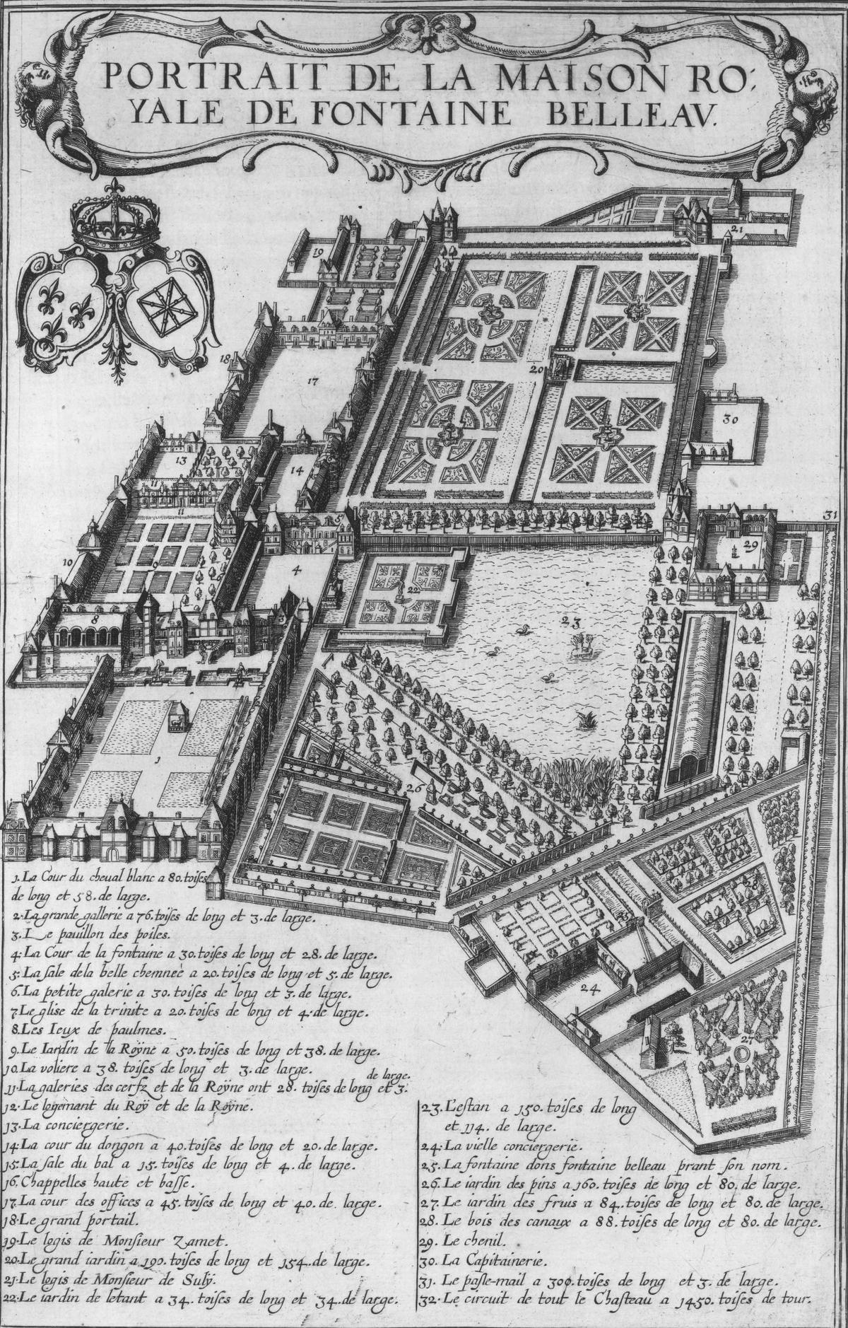 Portrait de la Maison Royale de Fontaine Belleau - 1618.png