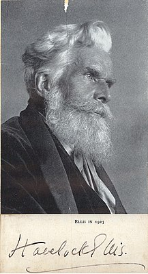 Portrait of Havelock Ellis (1859-1939), Psychologist and Biologist (2575987702).jpg