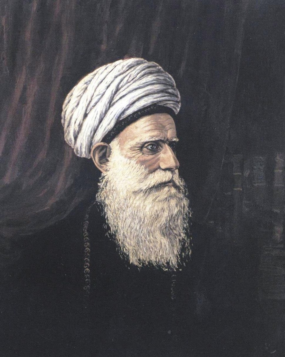 Portrait of Sheikhulislam by Huseinzade