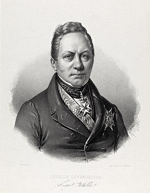 Severin Løvenskiold - Image: Portrett av Severin Løvenskiold (1777 1856)