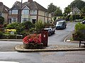 Post Box Peaslands road - geograph.org.uk - 1463508.jpg