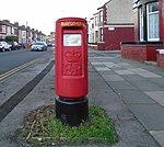 Post box on Rathbone Road, Liverpool.jpg