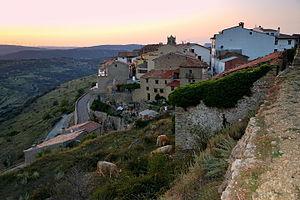 Castellfort - Image: Posta de Sol, els Ports, Castellfort