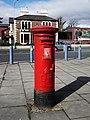 Postbox, Belfast - geograph.org.uk - 1755805.jpg