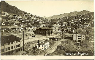 Morenci, Arizona Census-designated place in Arizona, United States
