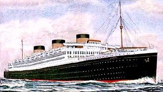 Oceanic (unfinished ship) - Image: Postcard Oceanic III