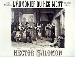 Poster for L'Aumônier du régiment by Hector Salomon at the Théâtre National Lyrique - Gallica.jpg