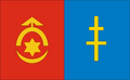Powiat ostrowiecki flaga.png