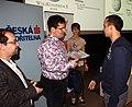 Praha, Dejvice, NTK, Wikikonference 2011, předávání Cen za rozvoj české Wikipedie X.jpg