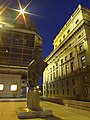Praha, Nové město, Národní divadlo, Stará a nová budova.JPG