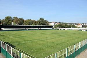 FK Meteor Prague VIII - Fotbalový areál Libeň, stadium of Meteor Prague