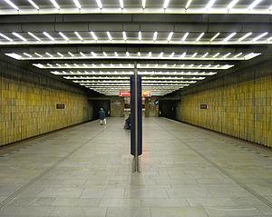 Chodov (Prague Metro) - Platform