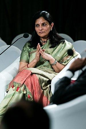 Preetha Reddy at the World Economic Forum on India 2012.jpg