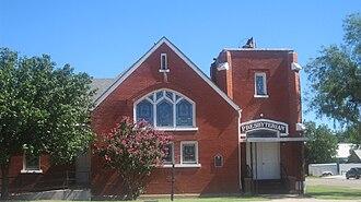 Baird, Texas - Presbyterian Church in Baird