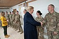 President Trump the First Lady Visit Troops in Iraq (46502781351).jpg
