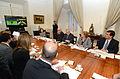 Presidenta Bachelet lideró reunión de emergencia por desastre en Valparaíso 01.JPG