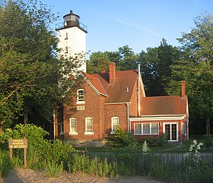 Presque Isle Light - Image: Presque Isle Lighthouse 2