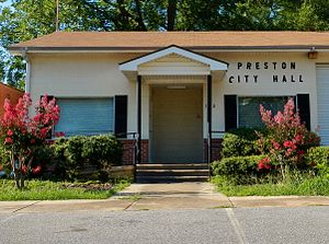 Preston, Georgia - Preston City Hall