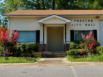 Preston, Georgia - Preston City Hall