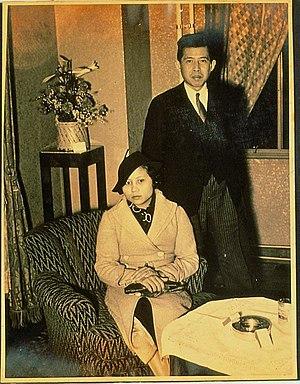 Poonsuk Banomyong - Pridi Banomyong and Poonsuk Banomyong