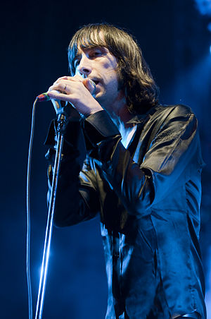 Bobby Gillespie - Bobby with Primal Scream in 2009