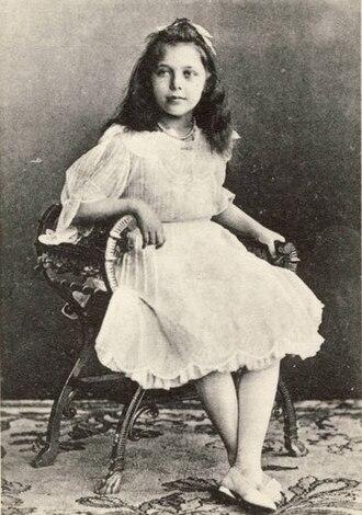 Princess Elisabeth of Hesse and by Rhine (1895–1903) - Princess Elisabeth of Hesse in 1903.