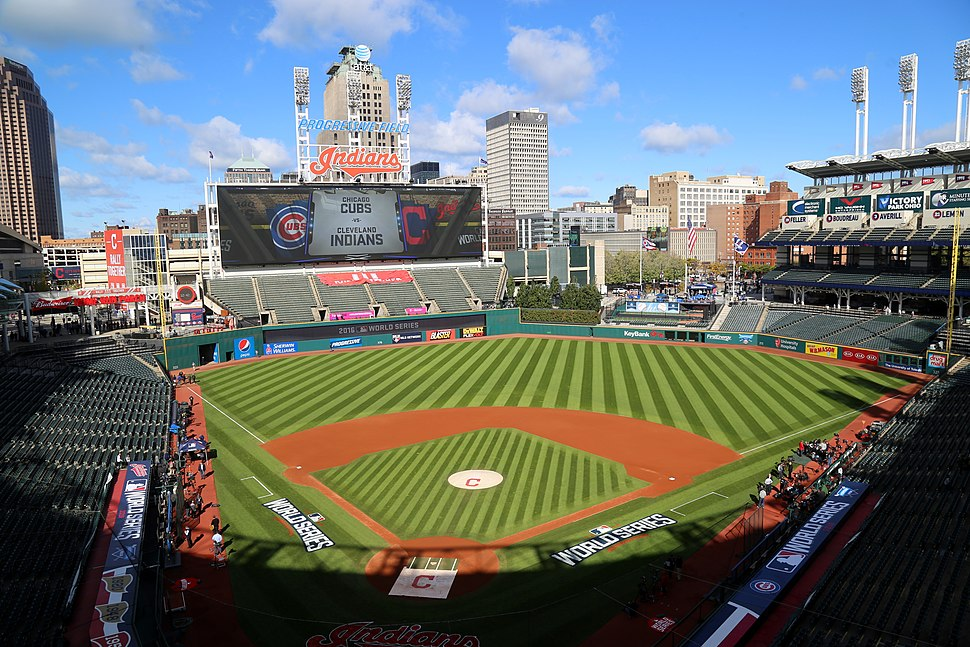 Progressive Field, hours before Game 1 of the 2016 World Series. (30447294252)