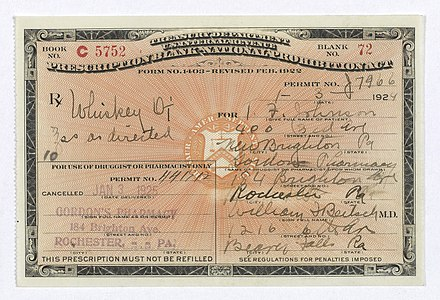 Prohibition-era prescription for whiskey Prohibition-era-prescription-for-whiskey.jpg