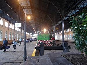 Ferrocentral - Ferrocentral train in Tucumán station.