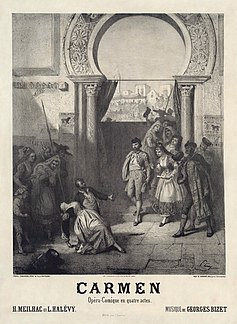 <i>Carmen</i> opera in four acts by French composer Georges Bizet