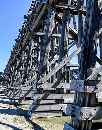 Fort Bragg, California - Pudding Creek Trestle