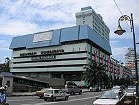 Puduraya in the afternoon, Kuala Lumpur, Malaysia.
