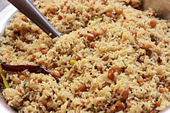 Telugu cuisine wikipedia pulihora a tamarind sour fried rice of andhra pradesh forumfinder Image collections