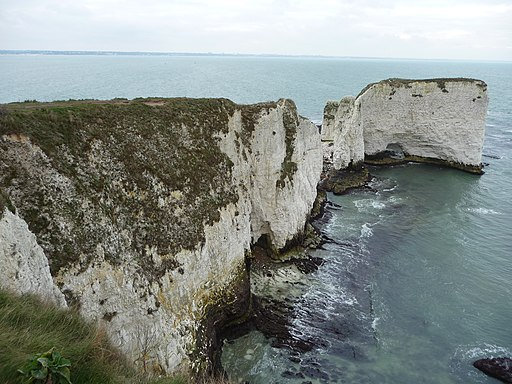 Purbeck , Handfast Point and Old Harry Rocks - geograph.org.uk - 1711922