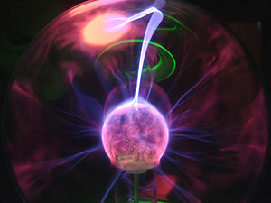 Me playing with a plasma ball and a camera