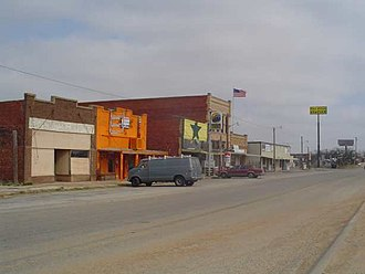 Putnam, Texas - Downtown Putnam