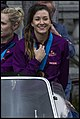 Queensland Netball Firebirds parade day-26 (19260013305).jpg