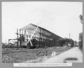 Queensland State Archives 3122 Erection of fabrication shops at Rocklea showing new road to stock yard Brisbane 1 October 1935.png