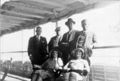 Queensland State Archives 5736 Hon J C Peterson Home Secretary and party on board the SS Marella June 1931.png