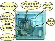 kasaysayan ng kompyuter Ang computer network ay isang koleksiyon ng mga hardware at mga kompyuter na pinag-uugnay ng mga channel na pangkomunikasyon (communication channels) upang makapagbahagi ng mga mapagkukunan.