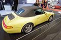 Rétromobile 2015 - Porsche 911 Carrera Cabrio 993 - 1997 - 002.jpg