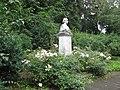 Rösch, Wilhelm, Mörike-Denkmal, Stuttgart, mit Silberburganlage.jpg