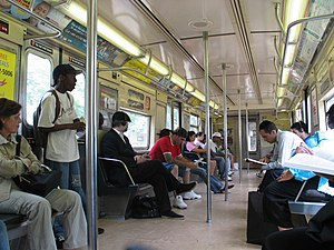 R40/A (New York City Subway car) - Image: R40 4320