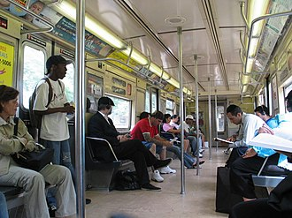 R40/A (New York City Subway car) - Image: R40 4320