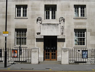 Royal Academy of Dramatic Art - Image: RADA 62 Gower Street, London WC1E 6ED. Frontage dates from 1905