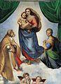 RAFAEL - Madonna Sixtina (Gemäldegalerie Alter Meister, Dresden, 1513-14. Óleo sobre lienzo, 265 x 196 cm)FXD.jpg